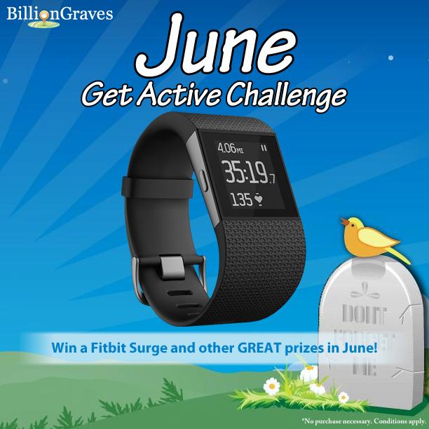 June Get Active Challenge Winners!