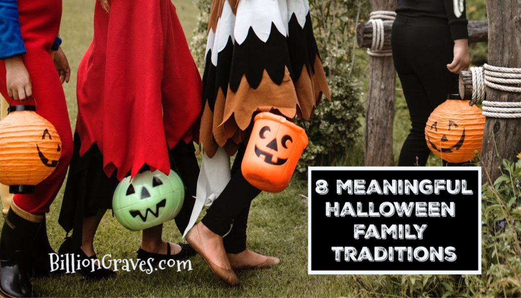 BillionGraves.com, 8 meaningful Halloween family traditions, BillionGraves, trick-or-treat