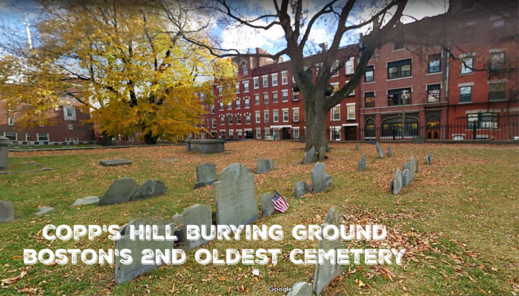 BillionGraves, Copp's Hill Burying Ground, Google maps, fall foliage, cemetery photo trip, BillionGraves app, Boston, Massachusetts, photograph gravestones