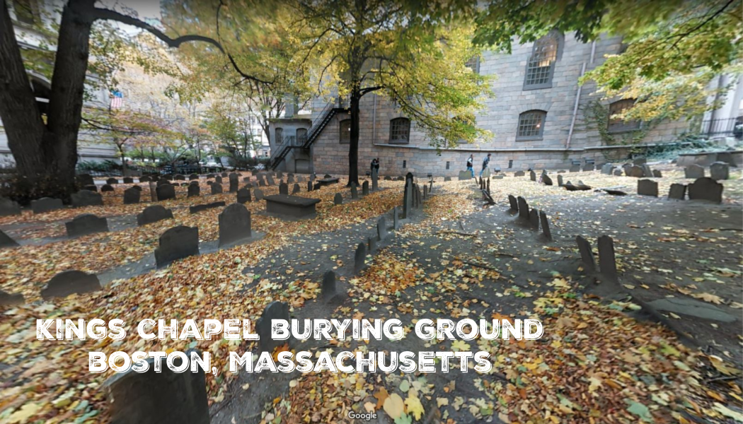 fall foliage, cemetery trip, fall color tour, BillionGraves, King Chapel Burying Ground, Boston, Massachusetts, Google maps, BillionGraves app
