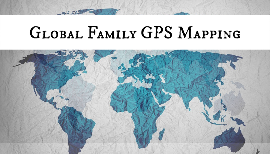 Global family, GPS, BillionGraves Plus, family, BillionGraves, GPS feature, mapping