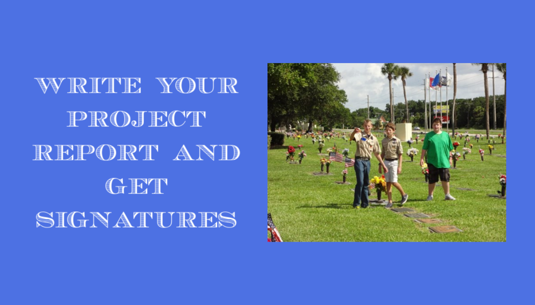Eagle Scout project, Boy Scouts, cemetery, BillionGraves documentation