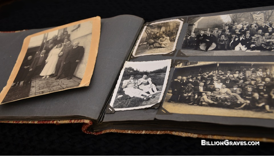 BillionGraves, photo album, family party, Christmas, reunion, genealogy, family Christmas party, BillionGraves