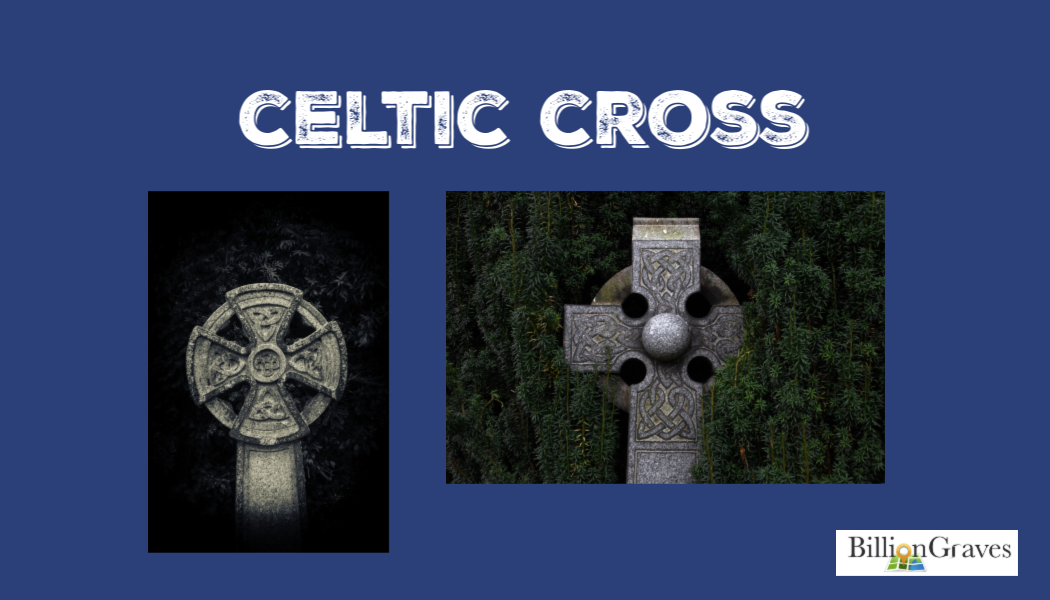 BillionGraves, Celtic cross, cemetery, genealogy, ancestors, graves