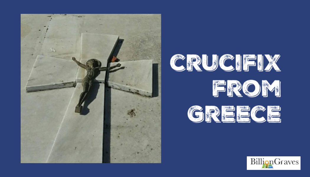 BillionGraves, crucifix, cross, cemetery, family history, genealogy, BillionGraves