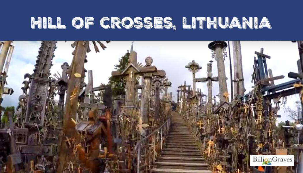BillionGraves, Hill of Crosses, Lithuania, cemetery, cross, BillionGraves, cemetery symbols