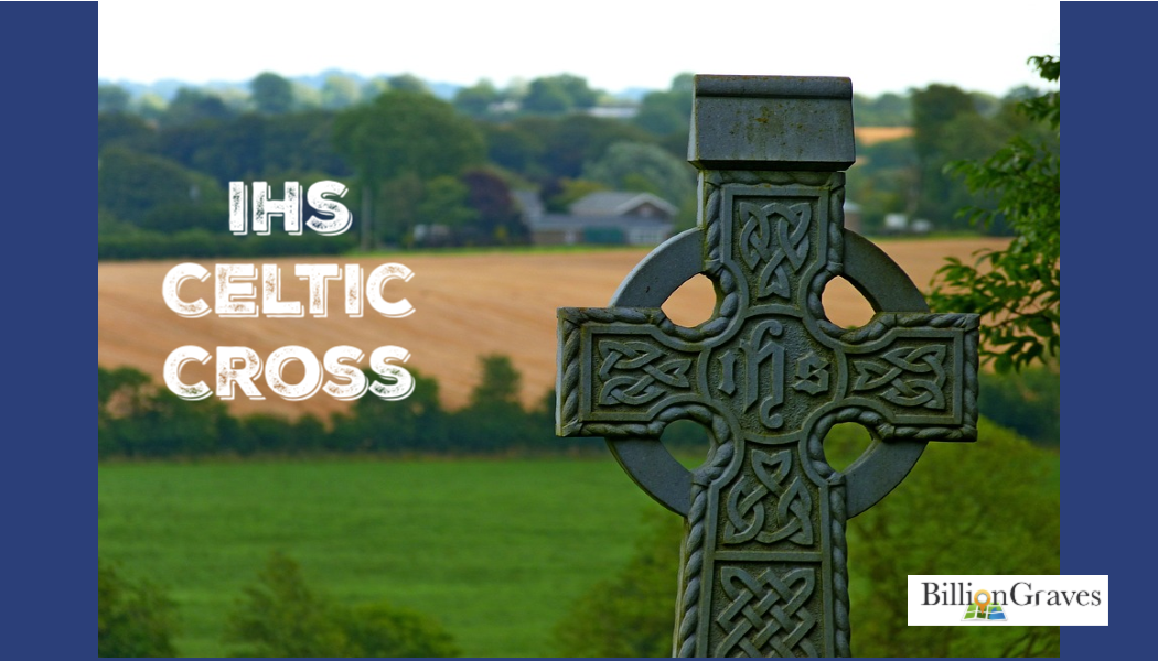 BillionGraves, Celtic cross, cemetery, field, cross, BillionGraves, ancestors, genealogy