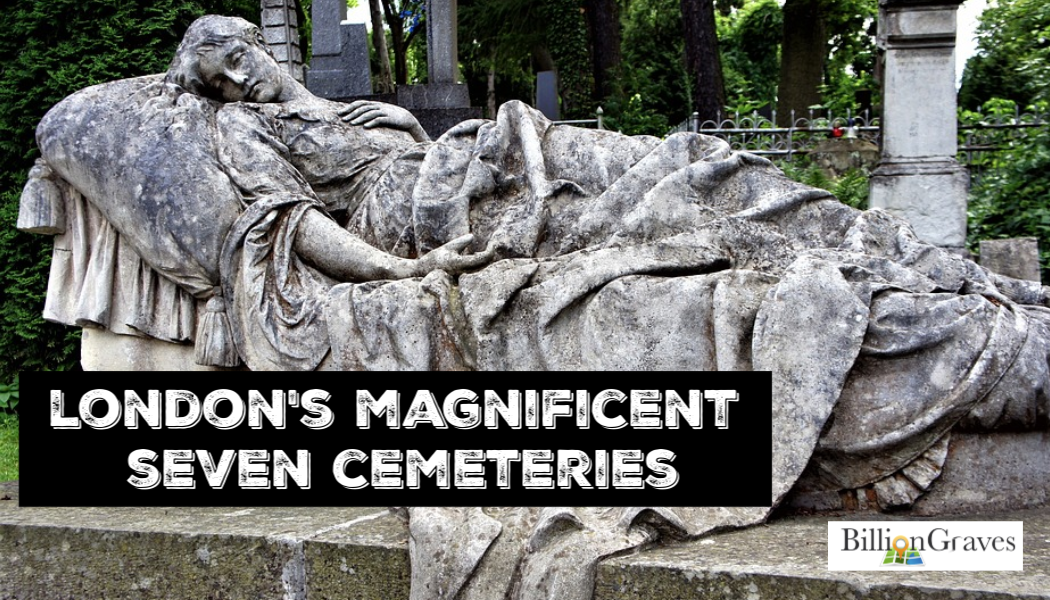 London, cemetery, Magnificent Seven, England, British, Family history, BillionGraves, Genealogy, ancestors, BillionGraves
