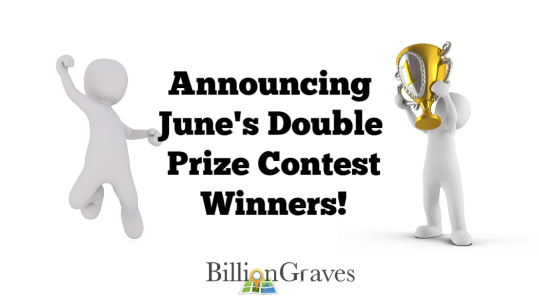 billiongraves, cemetery, gravestones, contest, win, prizes, competition, BillionGraves, genealogy