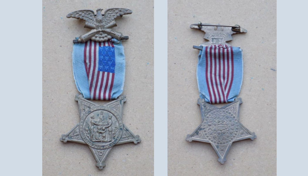 confederate medals, BillionGraves, flags, military, flag holders, medallion, Veteran, US, USA, US veteran, army, navy, marine, air force, cemetery, gravestone, grave, BillionGraves, GAR medals, civil war