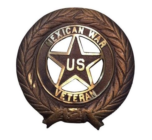 BillionGraves, flags, military, flag holders, medallion, Veteran, US, USA, US veteran, army, navy, marine, air force, cemetery, gravestone, Mexican War, grave, BillionGraves