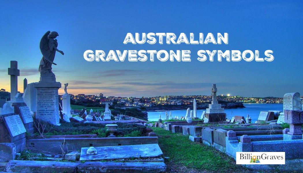 BillionGraves, Australia, Symbols, Gravestone Symbols, Cemetery, Cemetery symbols, aussie, NSW, New South Wales, Australia, Waverley Cemetery, GPS