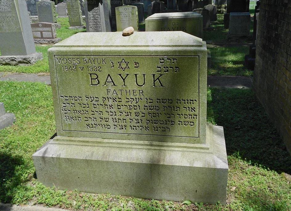 BillionGraves, Jewish, genealogy, family history, GPS, BillionGraves app, Israel, Jew, Hebrew, cemetery, grave, gravestone, bayuk