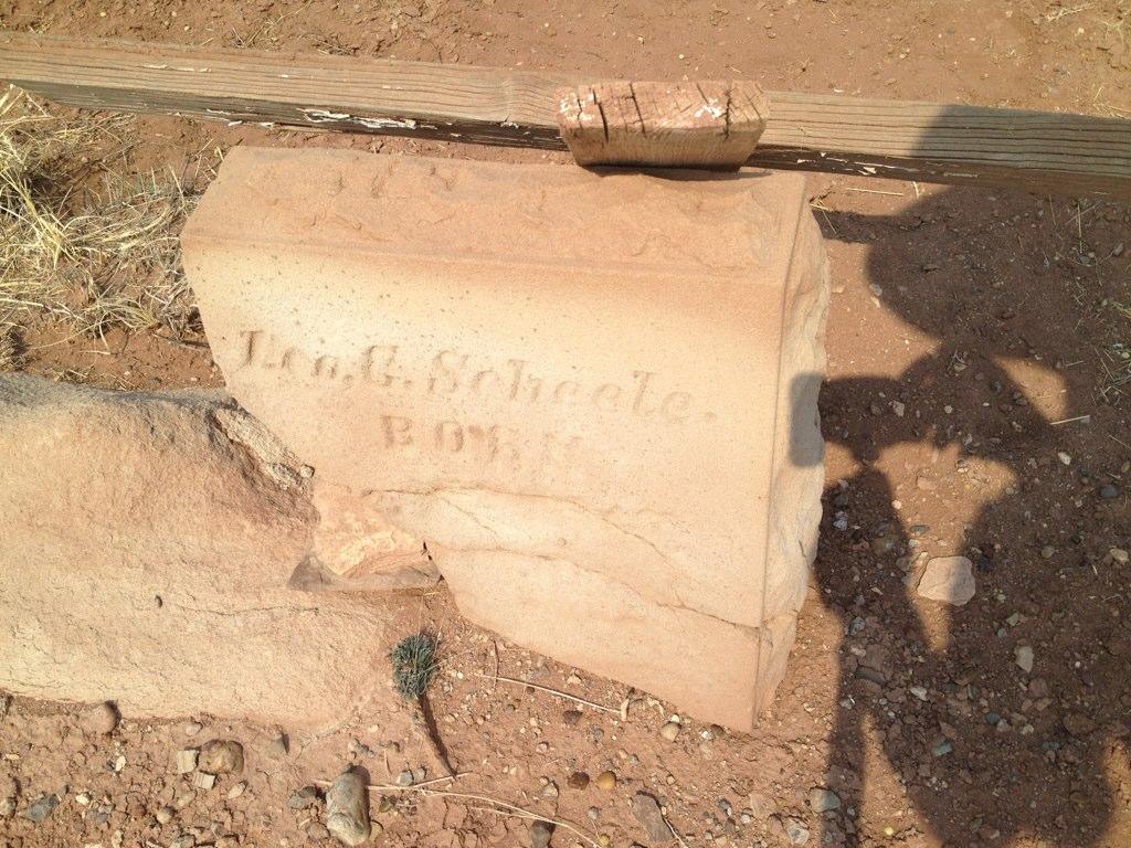 sandstone, BillionGraves, gravestone, grave, damaged gravestones, cemetery, family history, ancestors, community service project, JustServe, BillionGraves app, ivy, plant growth, JustServe, Arizona