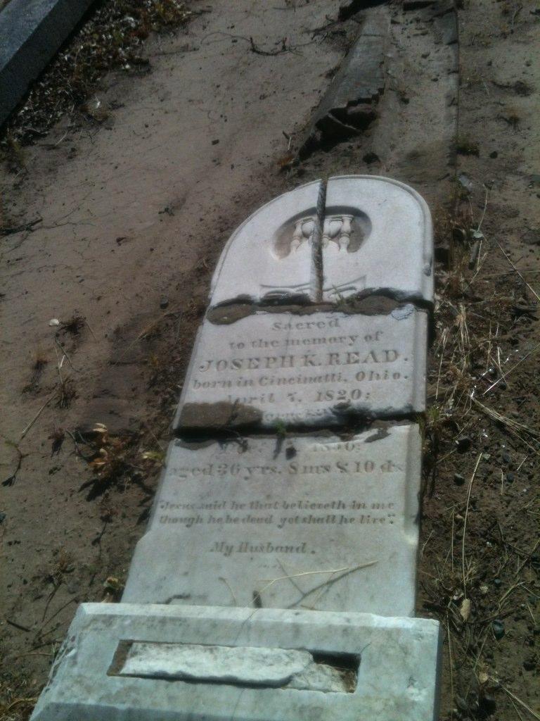 BillionGraves, gravestone, grave, damaged gravestones, cemetery, family history, ancestors, community service project, JustServe, BillionGraves app, ivy, plant growth, JustServe, broken gravestone