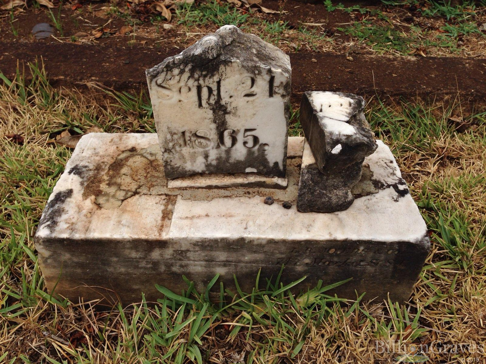 BillionGraves, gravestone, grave, damaged gravestones, cemetery, family history, ancestors, community service project, JustServe, BillionGraves app, ivy, plant growth, JustServe, marble grave