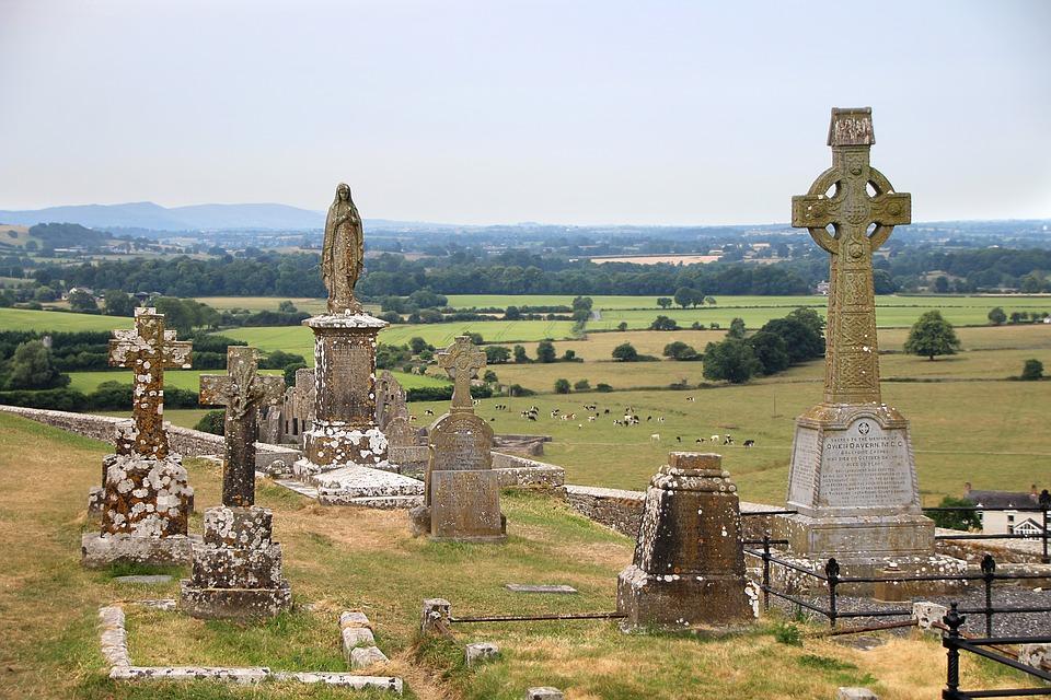 celtic cross, irish cemetery, BillionGraves, Irish Famine, celtic cross, cemetery, genealogy, family history, ireland, St. Patrick's Day, Irish wake, Irish burial customs, family history, genealogy, ancestors