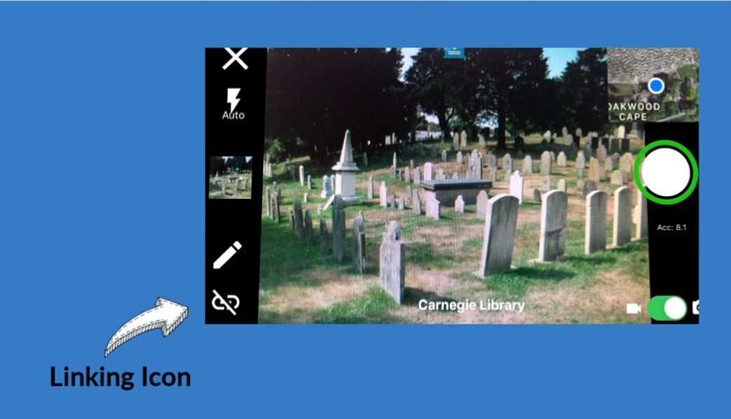BillionGraves, gravestone, grave, damaged gravestones, cemetery, family history, ancestors, community service project, JustServe, BillionGraves app, linking data, GPS