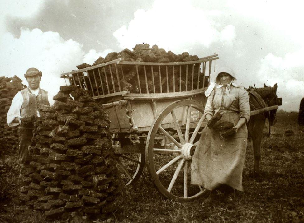 bogland, bog, Irish bog, BillionGraves, Irish famine, potato famine, St. Patrick's Day, Ireland, genealogy, ancestors, BillionGraves, cemetery, gravestone, Celtic
