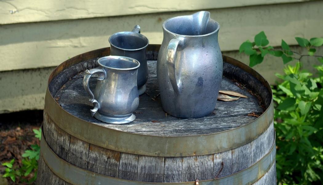 pewter mug, ale, Irish wake, Ireland, St. Patrick's Day