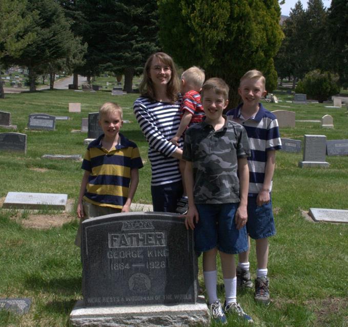 Genealogy's NOT Just for Grandmas