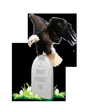 EagleOnHeadstone