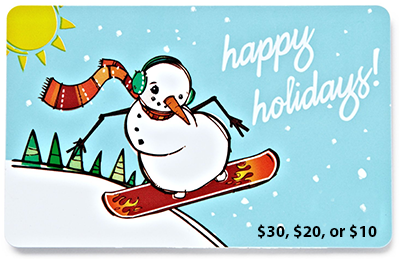 $30, $20, or $10 Amazon Gift Card